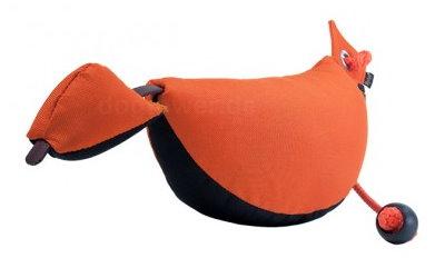 Mystique Bird Dummy, orange/schwarz, inkl. Kordel