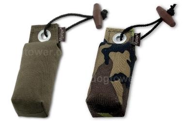 Hundedummy Pocket, khaki und camouflage