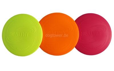 Hundefrisbee, Neonfarben