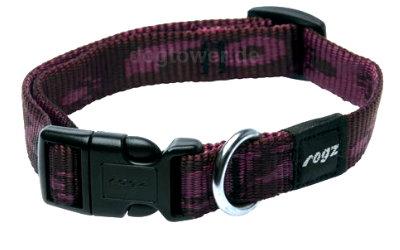 Hundehalsband Rogz, Alpinist, brombeer