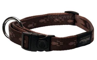 Rogz Alpinist Halsband, mocca (zweifarbig)