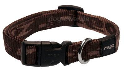 Hundehalsband Rogz, Alpinist, mocca