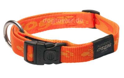 Hundehalsband Rogz, Alpinist, mango
