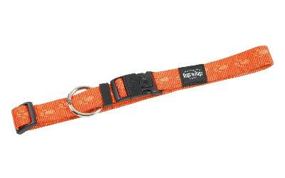 Rogz Hundehalsband, orangefarben