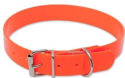 Hundehalsband Biothane Classic Gold-Orange