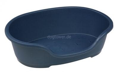 Hundekorb Kunststoff, dunkelblau
