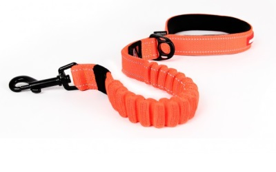 Hundeleine Zero-Shock, blaze-orange