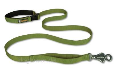Ruffwear Nylon- Leine Flat Out, grün