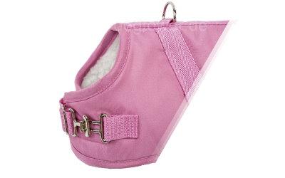 Hundemantel Pink, Schnalle