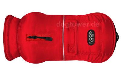 Hundemantel Noox Explorer, rot