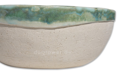 Handgedrehter Keramiknapf