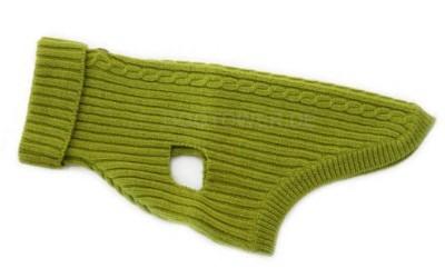 Hundepullover, grün