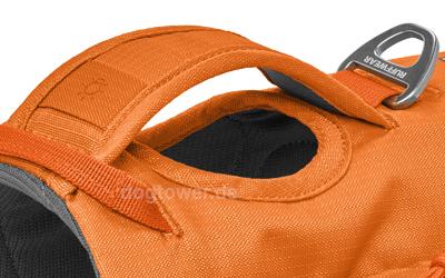 Stabiler Haltegriff im Rückenbereich