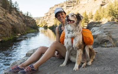 Outdoorausrüstung für Hund und Halter