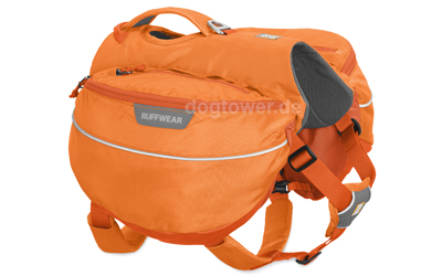 Ruffwear Hunderucksack Approach Pack, orange poppy