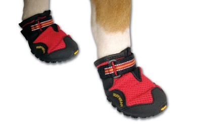 Ruffwear Hundeschuhe, rot