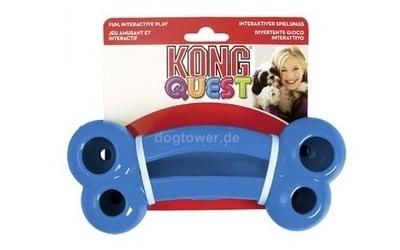 Hundespielzeug Kong Quest Bone