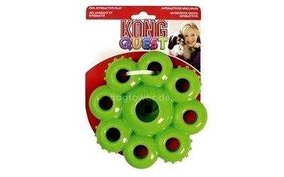 Farbenfrohes Hundespielzeug von Kong