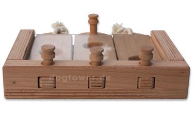 Holzspielzeug Tripple , unbehandelt