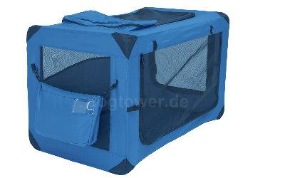 Soft Crate Deluxe Transportbox aufgeklappt