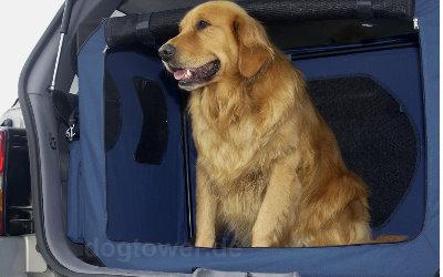 Transportbox ideal für den Kofferraum oder die Rückbank