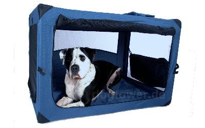 Idealer Rückzugsort, z.B. f. schreckhafte Hunde