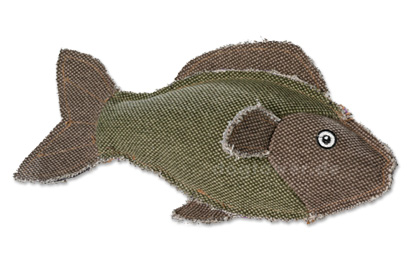 Hunter Canvas Spielzeug Fisch