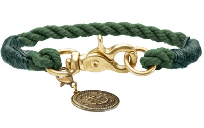 Hunter Hundehalsband List, oliv