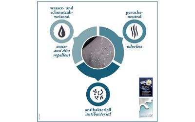 Hundebett, wasserabweisend, geruchsneutral, antibakteriell