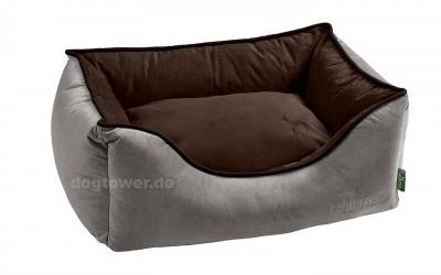 Hunter Hundesofa Bristol, grau/braun