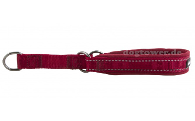 Hurtta Casual Half Choke Hundehalsband, preiselbeere