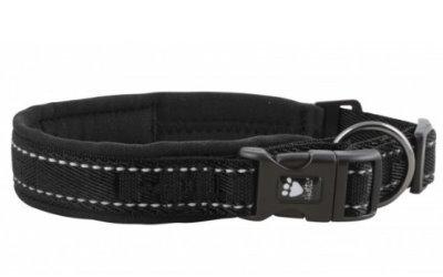 Hurtta Casual Hundehalsband, schwarz