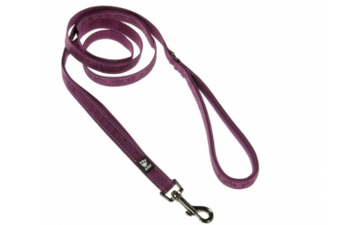 Hurtta Casual Reflective Leash, violett/heather