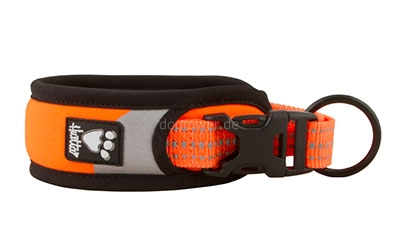 Hurtta Lifeguard Dazzle Halsband, signal-orange