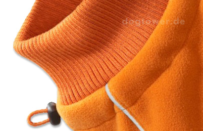 Fleecepullover Hurtta, orange