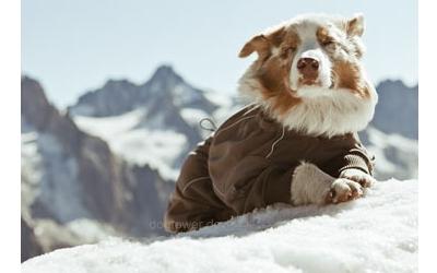 Hurtta Fleece Overall Pro, braun