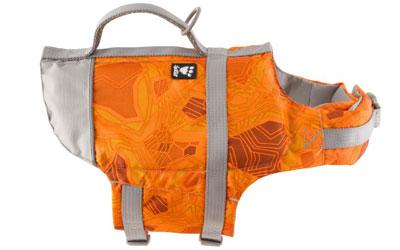 Hurtta Life Savior Hundeschwimmweste, orange/camo