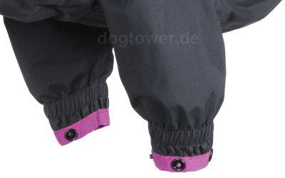 Elastischer Beinabschluß, farblich abgesetzt