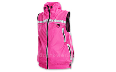 Lifeguard Outdoorweste, pink