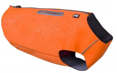 Hurtta Rambler Vest wärmende Sicherheitsweste, orange