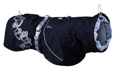 Hurtta Regenjacke Drizzle Coat, schwarz