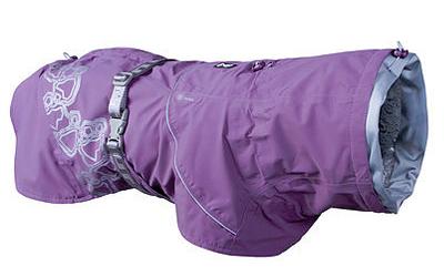 Hurtta Regenjacke Drizzle Coat, currant/violett
