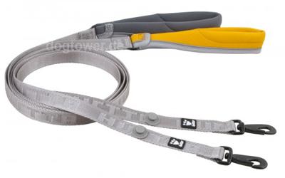 Adventure Leash von Hurtta in grau und orange erhältlich