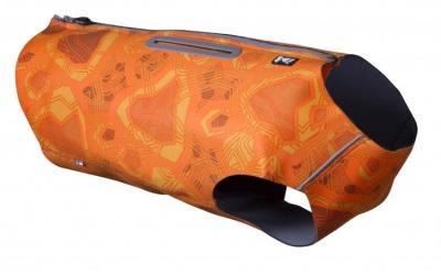 Hurtta Swimmer Vest Hundeschwimmweste mit Insektenschutz, orange camo