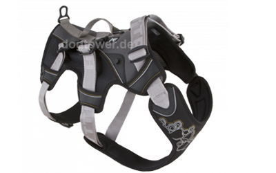 Hurtta Trail Hundegeschirr Trail harness, schwarz