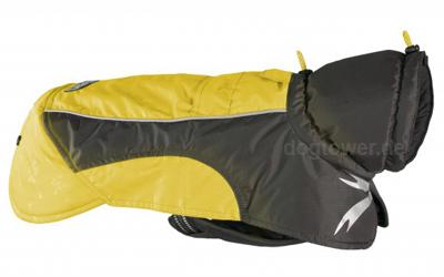 Hurtta Ultimate Warmer Hundemantel, gelb