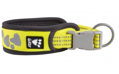 Hurtta Weekend Warrior Halsband, neon lemon