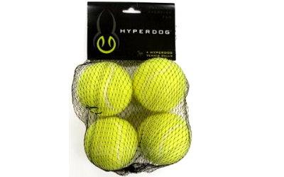 Tennisbälle in gelb