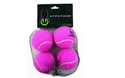 Tennisbälle in pink