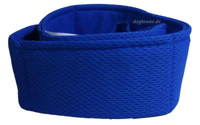 Hyperkewl kühlendes Hundebandana, blau